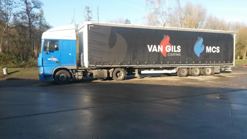 Van Gils Coating Group investeert in eigen logistiek